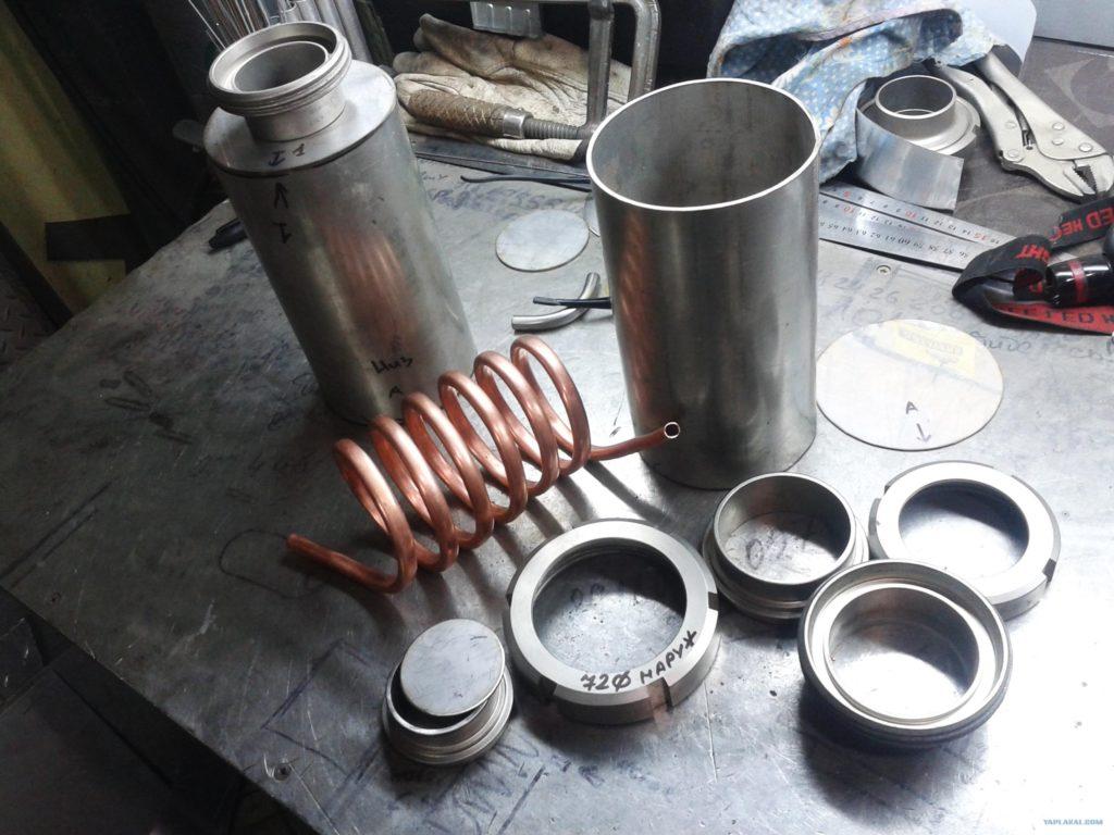 Изготовление змеевика для самогонного аппарата