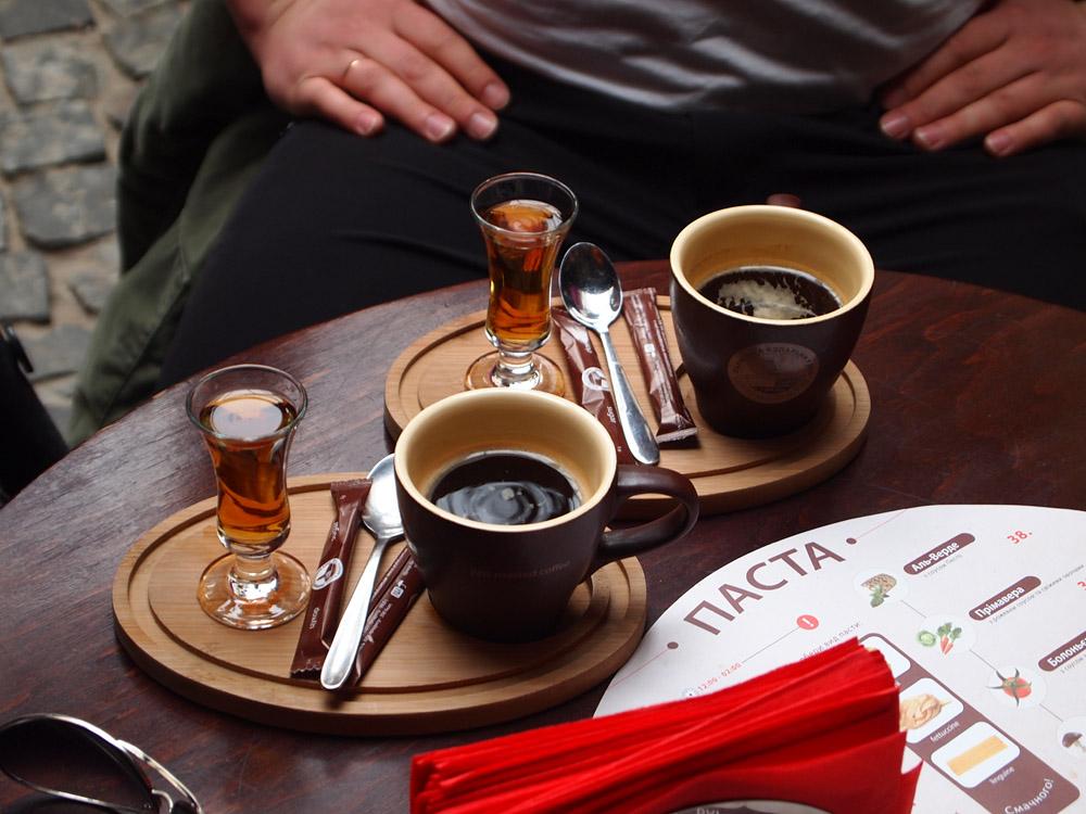 горячие напитки кофе