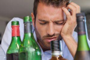 Алкоголь при температуре1