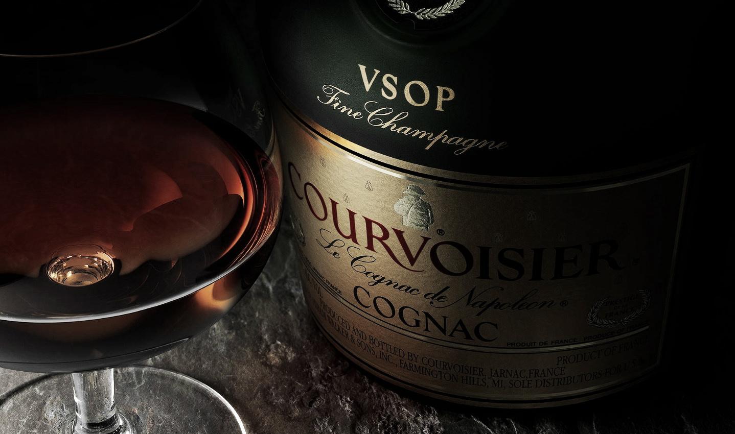 как пить Коньяк Courvoisier
