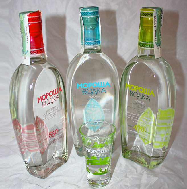 Водка мороша какой спирт